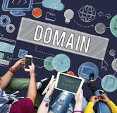 Homepage Domain HTML Web Design Concept Royalty Free Stock Image