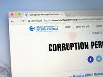 Homepage Transparency International, zdjęcia royalty free