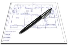 Homeplan Fotos de Stock Royalty Free