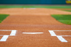 Homeplate Royalty Free Stock Image