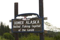 Homer Alaska fotografia stock libera da diritti