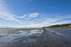 Homer Alaska Volcano View Royalty Free Stock Photo