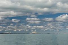 Homer Alaska Volcano View Stock Image
