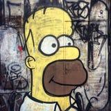 Homer Simpson fotografia stock libera da diritti