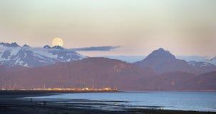 Homer Spit, Alaska foto de archivo