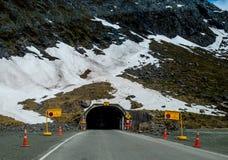 Homer-Tunnel Lizenzfreie Stockfotografie