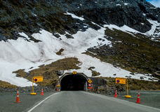 Homer tunnel Royalty Free Stock Photography