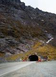 Homer Tunnel Milford Sound arkivbild