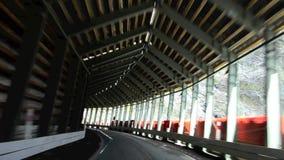 Homer Tunnel New Zealand almacen de metraje de vídeo
