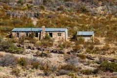 Homer Wilson Cabin en parque nacional de la curva grande Imagen de archivo