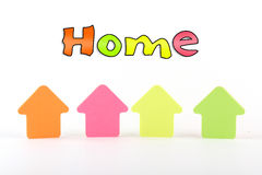 Homes Royalty Free Stock Photography