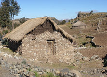 Homes, Amhara, Ethiopia, Africa Royalty Free Stock Photography