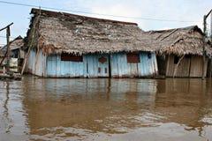 Homes in Belen - Peru Stock Photography