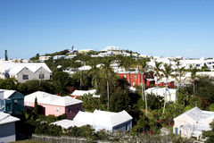 Homes in Bermuda Royalty Free Stock Images