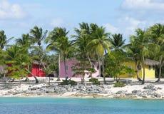 Homes on the Coast of Santo Domingo Royalty Free Stock Photos