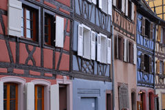 Homes in Colmar, France Stock Photography