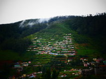 Homes in Coorg, India Royalty Free Stock Photos