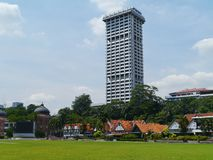 Homes on Dataran Merdeka in Kuala Lumpur Stock Images