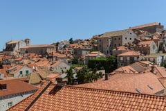 Homes in Dubrovnik Croatia Stock Images
