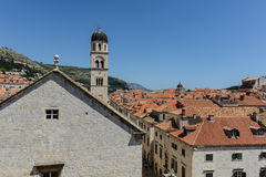 Homes in Dubrovnik Croatia Royalty Free Stock Photo
