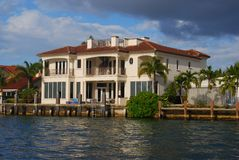 Homes in Fort Lauderdale Royalty Free Stock Images