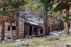 Homes in a Ghost Town Stock Images