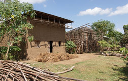 Homes, Great Rift Valley, Ethiopia, Africa Stock Photos