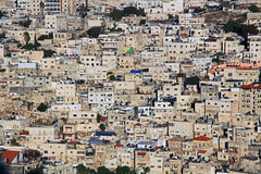 Homes on a Hillside in Jerusalem, Israel Royalty Free Stock Photography