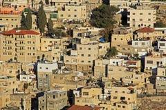 Homes on a Hillside in Jerusalem, Israel Royalty Free Stock Photo