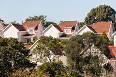 Homes Houses Gated Community Royalty Free Stock Photography