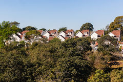 Homes Houses Gated Community Stock Photography
