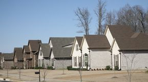 Free Homes In An Affluent Neighborhood Stock Photography - 87702692