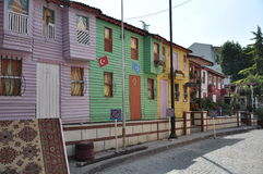 Homes in Istanbul Stock Photography