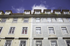 Homes in Lisbon Stock Photos