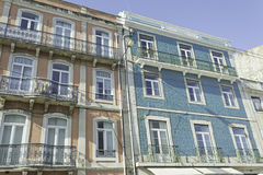 Homes in Lisbon Royalty Free Stock Image