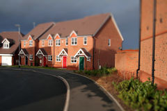 Homes little England Royalty Free Stock Photo