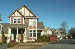 Free Homes Neighbourhood Street Stock Photography - 8279022