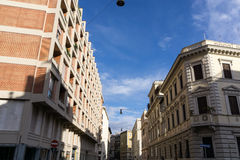 Homes and office buildings in Rome Stock Photos