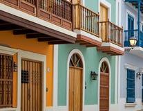 Homes in Old San Juan Stock Image
