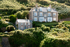 Homes in Port Isaac Royalty Free Stock Images