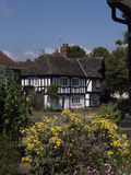 Homes in Port Sunlight, on the Wirral Cheshire Stock Image