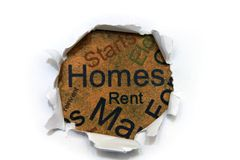 Homes for rent Stock Photography