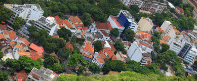 Homes in Rio Royalty Free Stock Photography