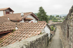 Homes Saint Jean Pied de Port Royalty Free Stock Photography