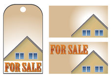 Homes for sale Royalty Free Stock Images