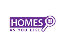 Homes for sale sign vector illustration