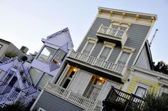 Homes of San Francisco Stock Image