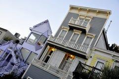 Homes of San Francisco Stock Image