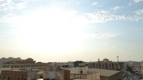 Homes in South Jeddah From afternoon to sunset time lapse stock footage