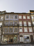 Homes typical of Portugal. Detail of typical houses of the city of Lisbon, tourism Stock Photo